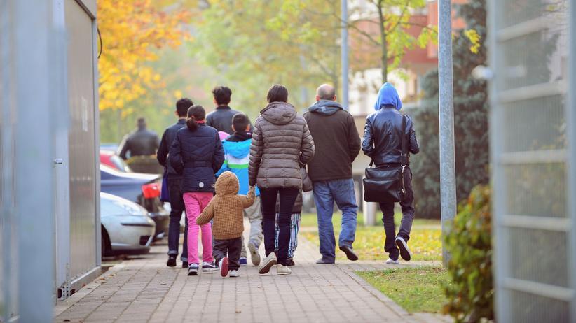 Asyl: Bewohner einer Unterkunft für abgelehnte Asylbewerber in Bamberg