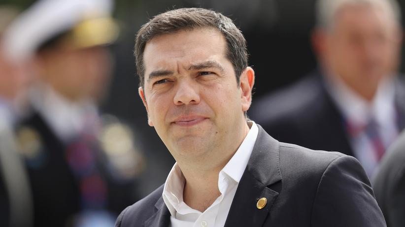 Flüchtlinge: Griechenlands Regierungschef Alexis Tsipras im Juli 2016
