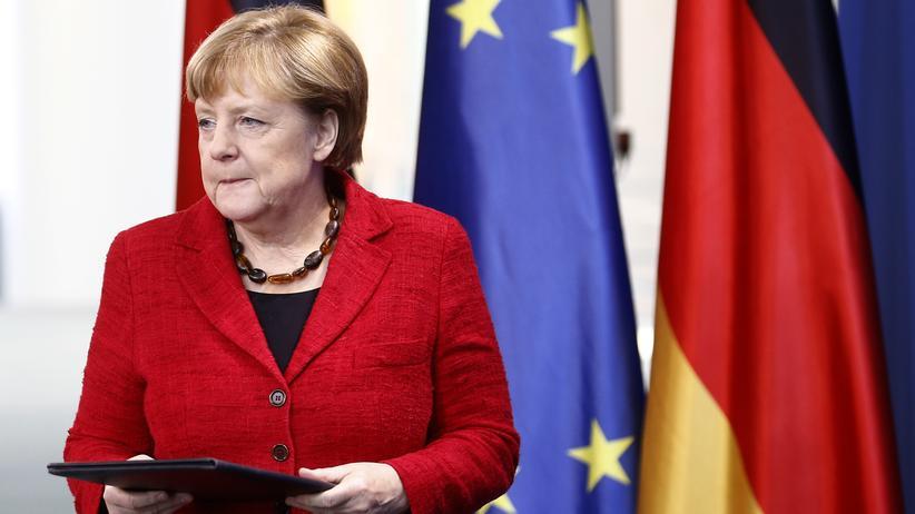 US-Wahl: Angela Merkel im Kanzleramt