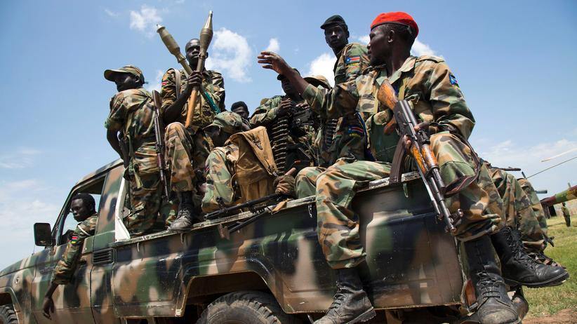 UN-Sicherheitsrat: Soldaten der Streitkräfte des Südsudan