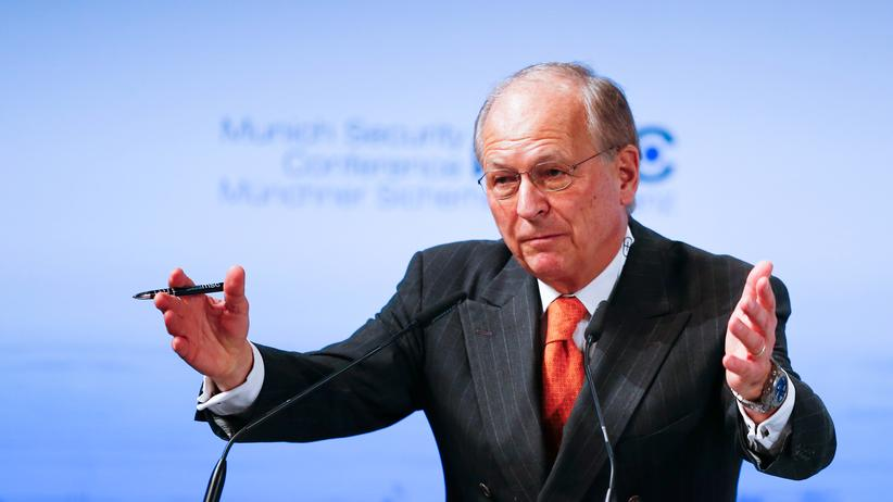 Münchner Sicherheitskonferenz: Wolfgang Ischinger, Vorsitzender der Münchner Sicherheitskonferenz