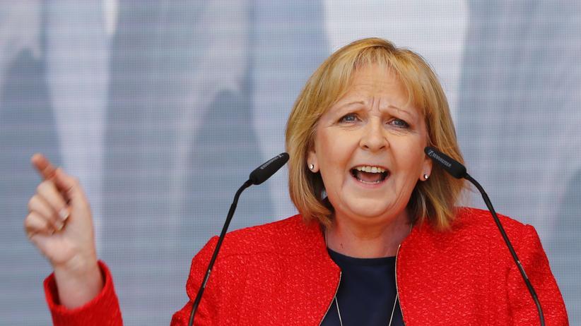 Kriminalität: Die nordrhein-westfälische Ministerpräsidentin Hannelore Kraft (SPD)