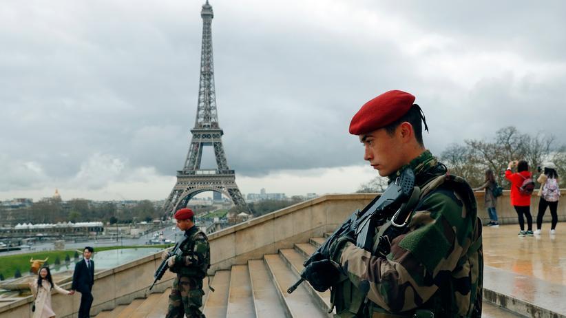 """""""Islamischer Staat"""": Frankreich ist laut Europol-Experten das am meisten gefährdete Anschlagsziel in Europa."""