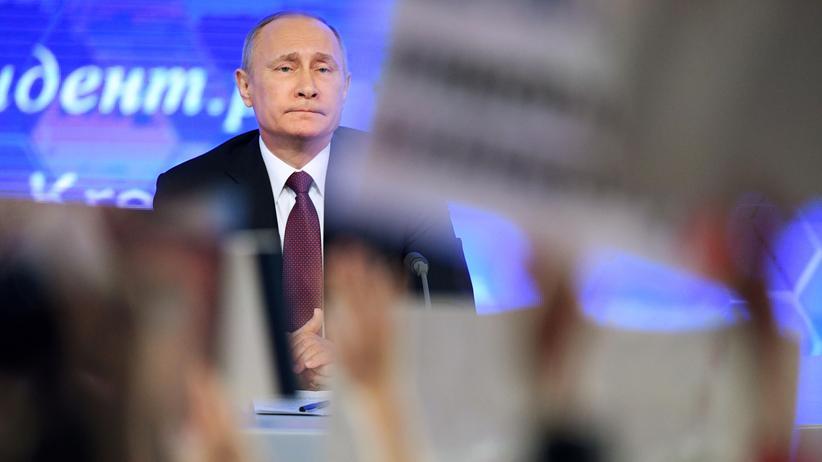 """Wladimir Putin: """"Russland ist einfach stärker als jeder Aggressor"""""""