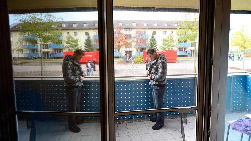 Abschiebung: Bewohner einer Einrichtung für abgelehnte Asylbewerber in Bamberg