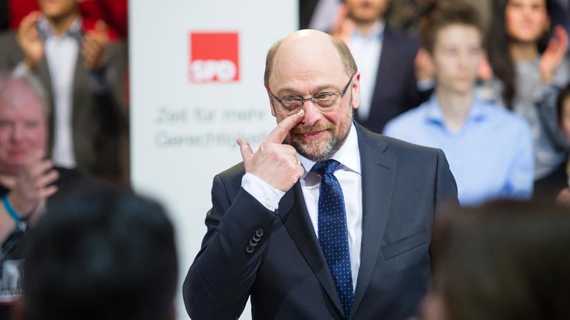 Hören, was bewegt: SPD-Kanzlerkandidat Martin Schulz