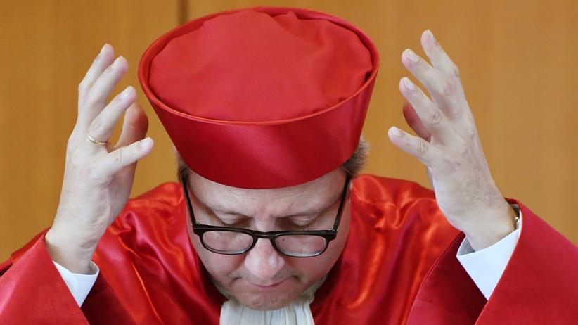 NPD-Verbot: Gerichtspräsident Andreas Voßkuhle