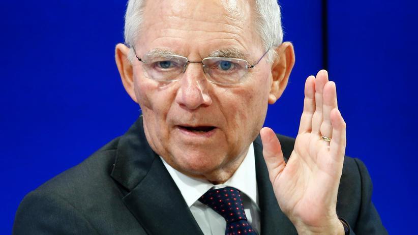 Haushaltsüberschuss: Bundesfinanzminister Wolfgang Schäuble