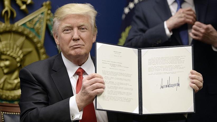 Donald Trump: Exekutivunordnung