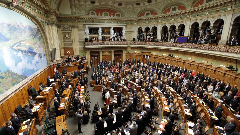 Wahlverhalten: Schweizer Sozial Demokratische Partei (SP) im Repräsentantenhaus 2010