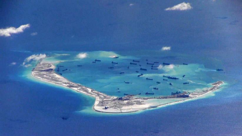 Südchinesisches Meer: USA werfen China Aufrüstung auf künstlichen Inseln vor
