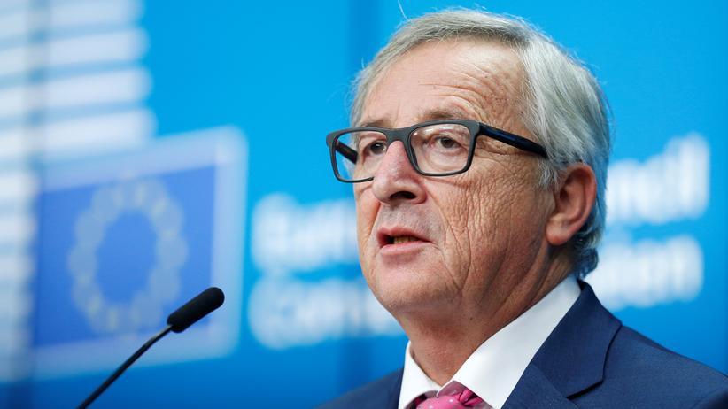 EU-Kommission: Jean-Claude Juncker in Brüsssel