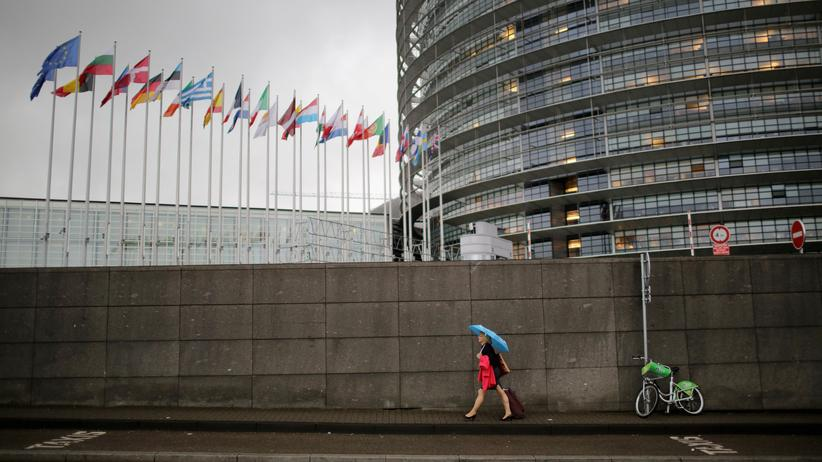 Europäisches Parlament: Das Europaparlament hat einer Verschärfung des Antiterrorgesetzes zugestimmt.
