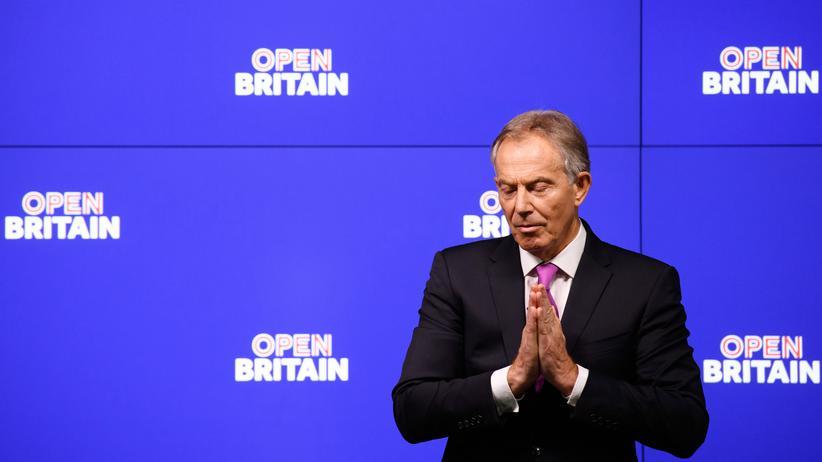 Großbritannien: Der frühere britische Premierminister Tony Blair