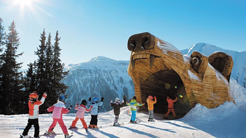 Tourismus: Alles für die Kinder: Das Skigebiet Serfaus-Fiss-Ladis in Tirol