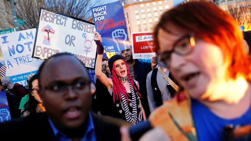 USA: Trump nimmt Schutz für Transgender zurück