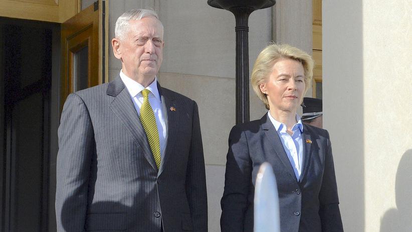 Pentagon: Von der Leyen und Mattis betonen Verbundenheit