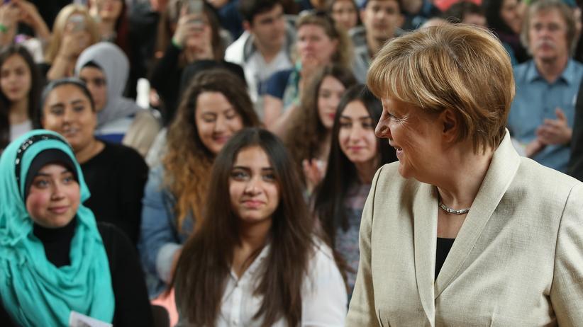 Türkei-Konflikt: Sie könnten auch Merkels Wähler sein: Junge Deutschtürken in Berlin (Archivbild von 2015)