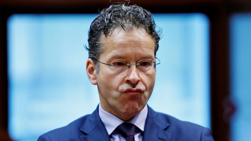 Jeroen Dijsselbloem: Südeuropäische Länder fordern Rücktritt des Eurogruppenchefs
