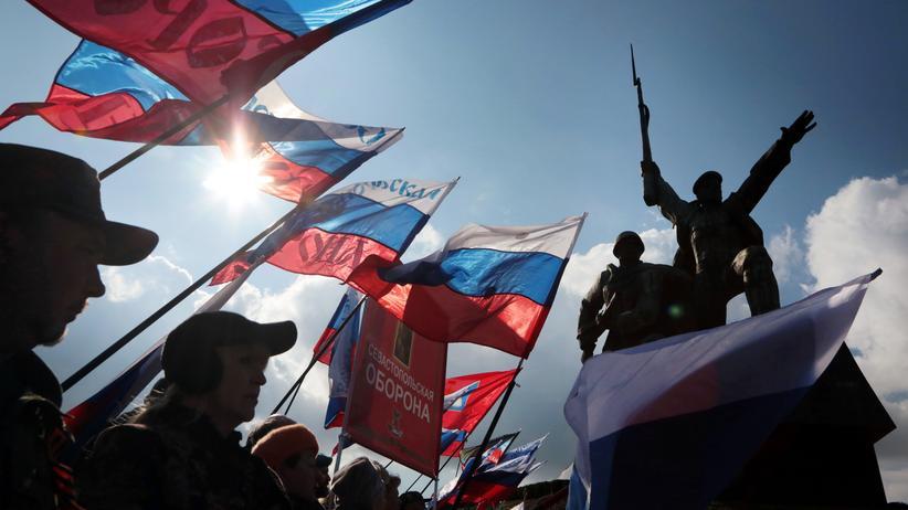 Nato: Jahrestag der Krim-Annexion in Sewastopol am 18. März 2017