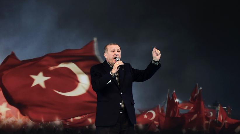 Türkei: Der türkische Präsident Recep Tayyip Erdoğan am 5. März in Istanbul