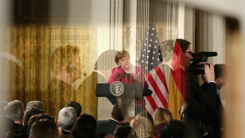 Merkel und Trump treffen erstmals aufeinander