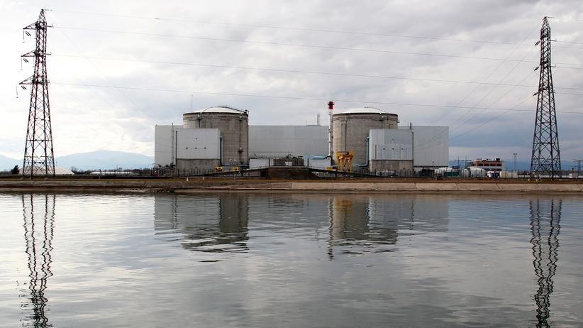 AKW Fessenheim: Das Atomkraftwerk Fessenheim in Frankreich