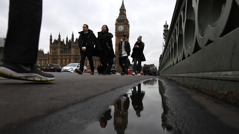 Meinungsforschung: Im Londoner Stadtzentrum