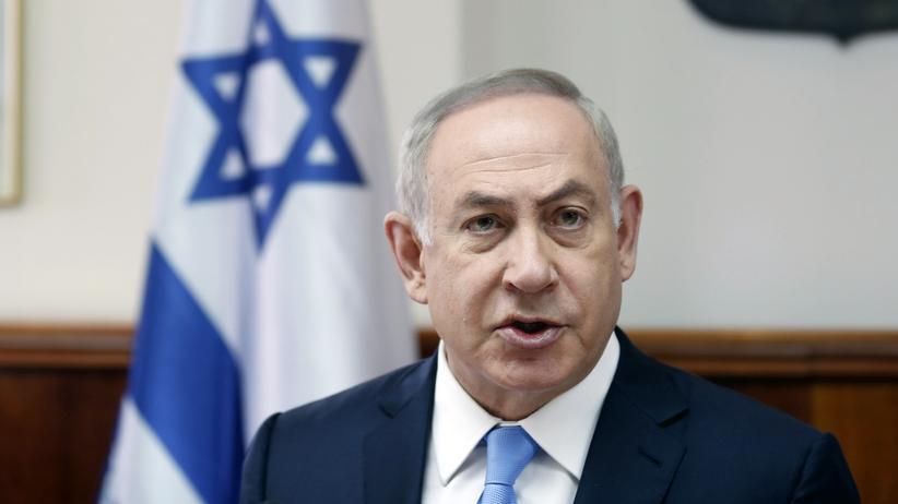 Israel: Der israelische Premierminister Benjamin Netanjahu