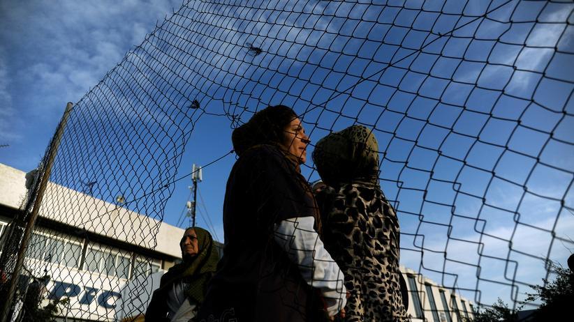 Malta: Afghanische Flüchtlinge demonstrieren im Februar in Athen gegen die Lebensbedingungen in griechischen Flüchtlingslagern.
