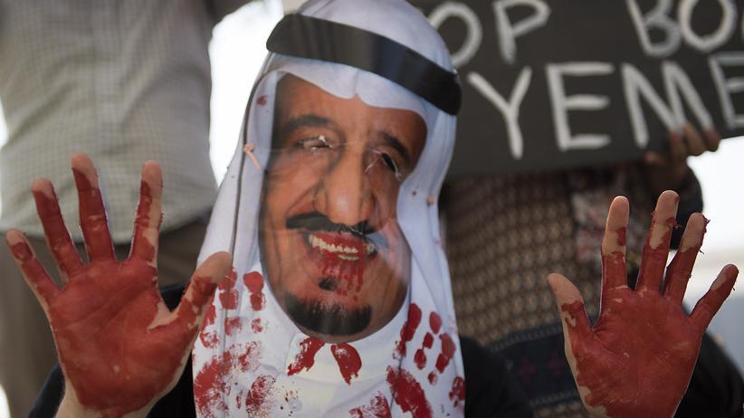 """""""Die Profiteure des Terrors"""": Proteste in den USA gegen Waffenlieferungen an Saudi-Arabien"""