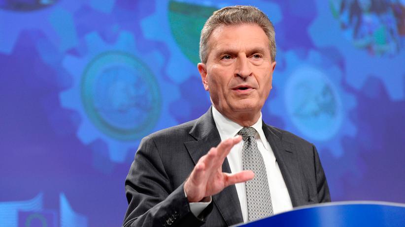 Europäische Union: Günther Oettinger hat seinen ersten EU-Haushaltsentwurf vorgestellt.
