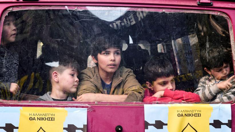 Flüchtlinge: Minderjährige Flüchtlinge in Athen
