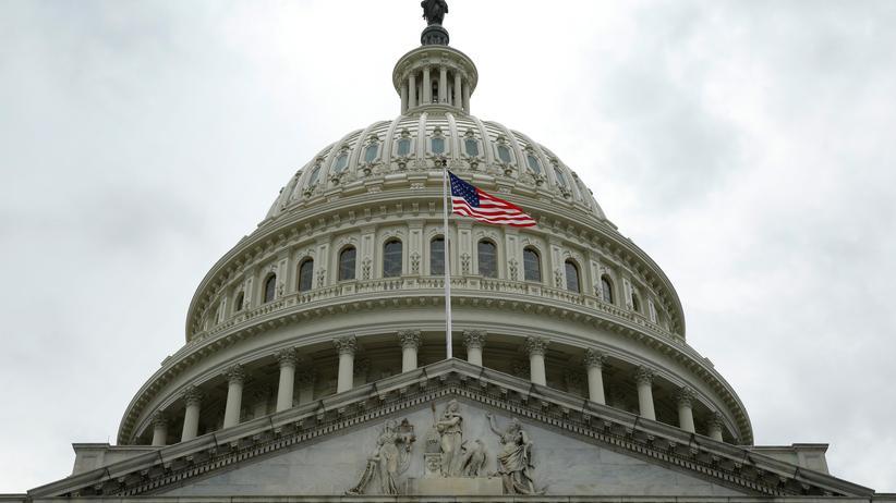 US-Kongress: Die Kuppel des Kapitol in Washington