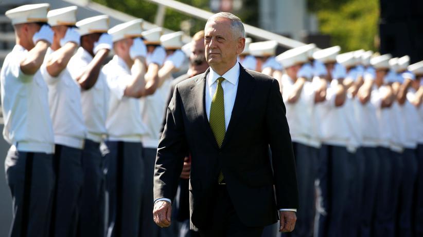 US-Verteidigungsminister: Mattis hält zivile Opfer bei Luftangriffen für unvermeidlich