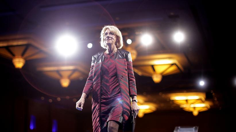 Rechtspopulismus: US-Bildungsministerin Betsy DeVos