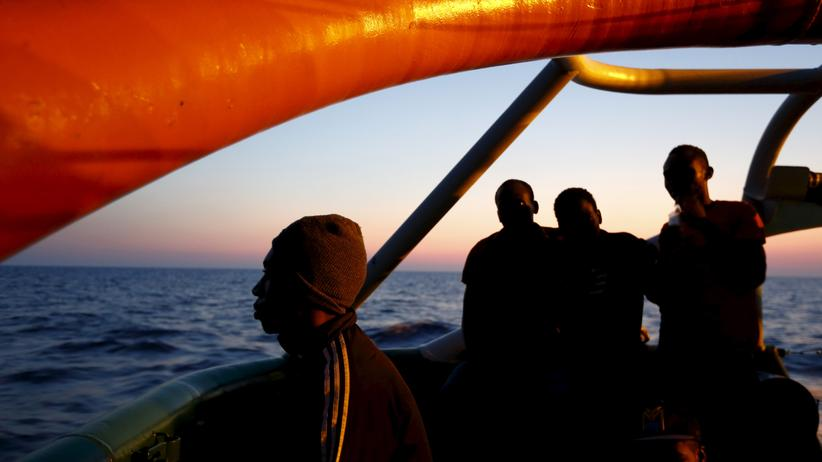 Libyen: Migranten auf ihrem Weg nach Europa
