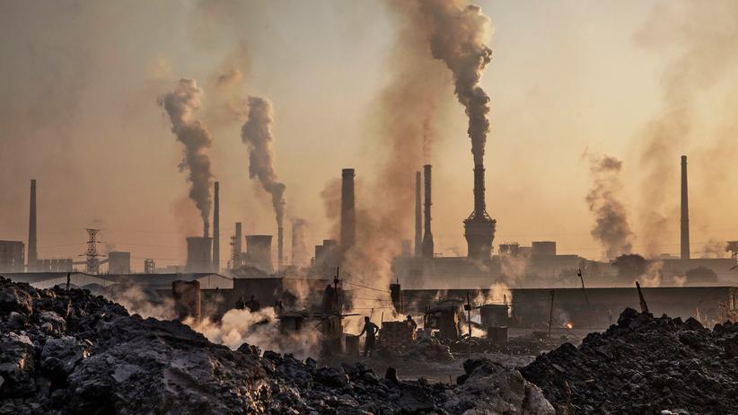 USA: Schornsteine in der inneren Mongolei