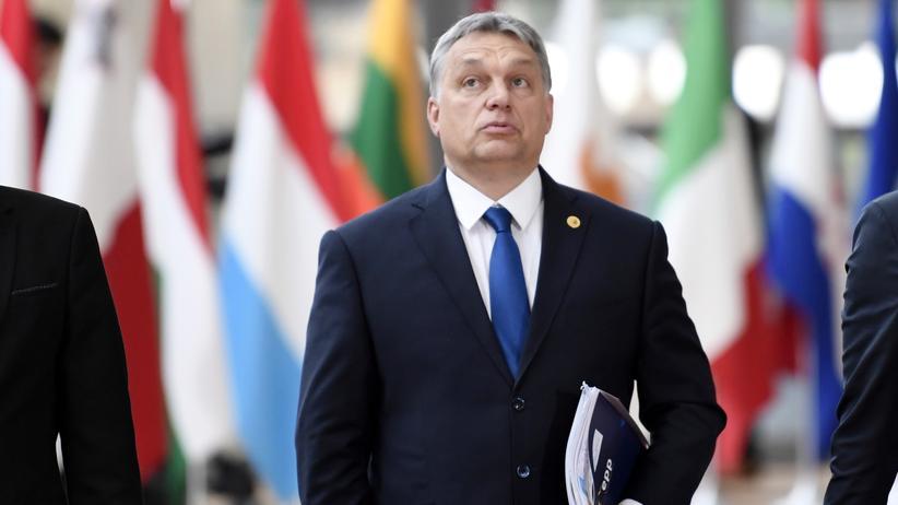 Auflagen für NGOs: Ungarns Ministerpräsident Viktor Orbán beim EU-Gipfel in Brüssel im März 2017
