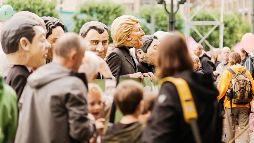 G20 mit Donald Trump: Retten, was zu retten ist