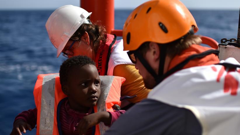 Seenotrettung: Ärzte ohne Grenzen im Einsatz auf dem Mittelmeer