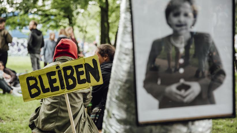 Protest gegen G20: Während des G20-Gipfels in Hamburg wurde teilweise ein Demonstrationsverbot in der Stadt verhängt.