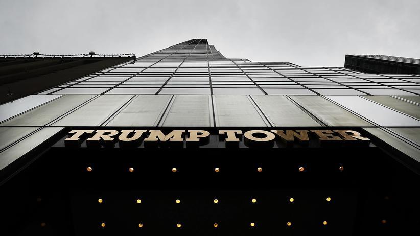 Russland-Affäre: Die Trump-Vertrauten und die Anwältin trafen sich dem Bericht zufolge im Trump Tower.
