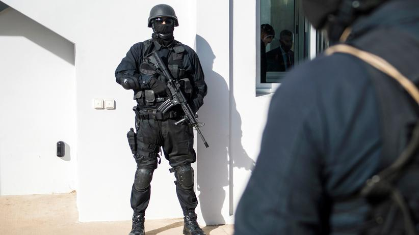 Marokko: Marokkanische Spezialkräfte in Salé