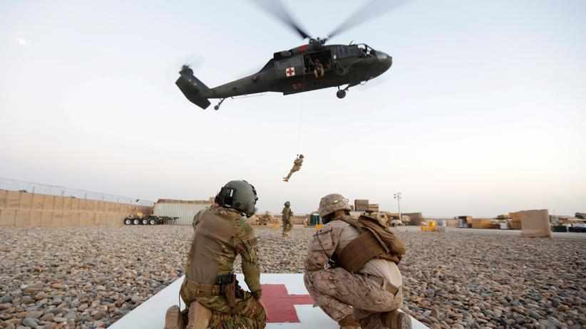 Afghanistan: US-Soldaten in der Provinz Helmand