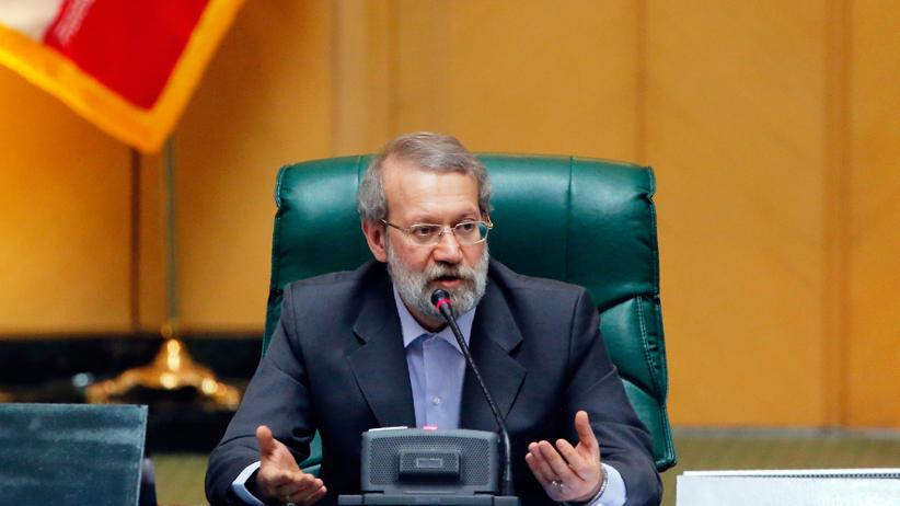 Ali Laridschani: Irans Parlamentspräsident vergleicht Trump mit Goebbels