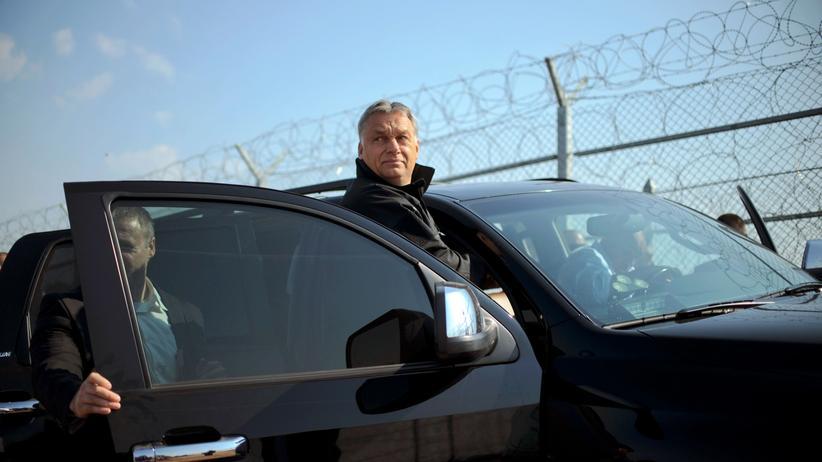 Ungarns Ministerpräsident weigert sich weitere Flüchtlinge aufzunehmen.