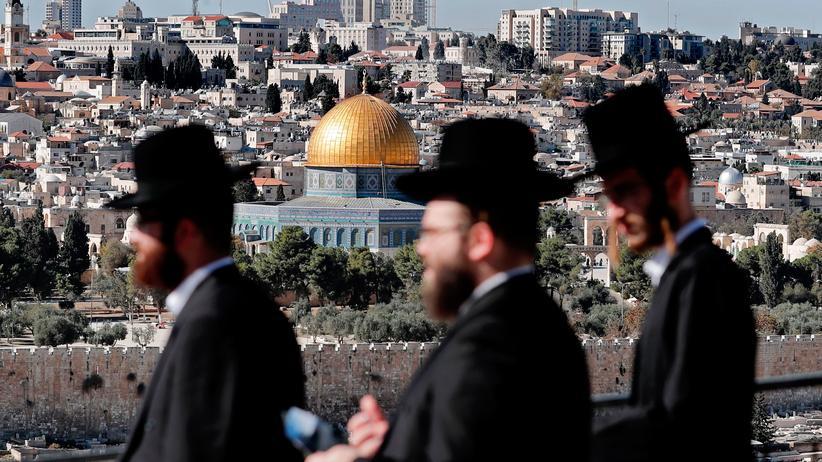 Jerusalem-Streit: Blick auf die Altstadt von Jerusalem mit dem Felsendom