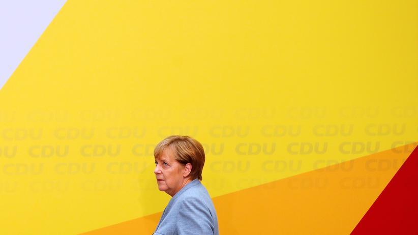 Konservatismus: Angela Merkel am Tag nach der Bundestagswahl in der CDU-Zentrale