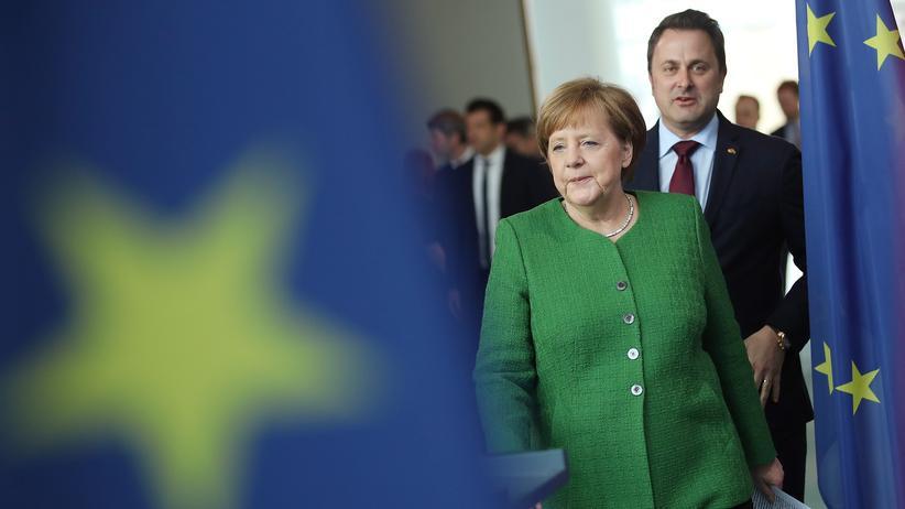 Europäische Union: Merkel sorgt sich um finanzielle Zukunft der EU nach Brexit